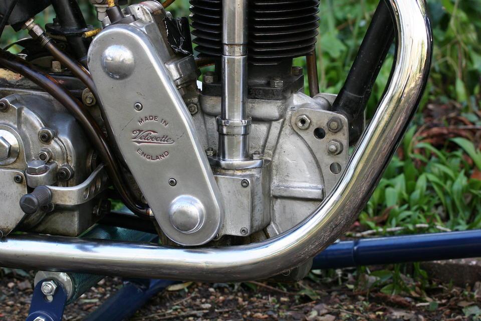 The ex-Basil Keys, c.1932 Velocette 348cc KTT/KSS  Frame no. KT 1460 (see text) Engine no. KTT 308 (see text)