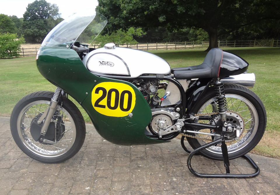 Norton 499cc Manx Replica Frame no. none Engine no. none