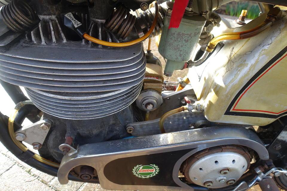 1954/5 Norton 348cc Manx Model 40M Frame no. J10M2 57859 Engine no. K10M 62506 (see text)