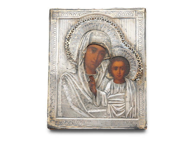 An Orthodox icon of The Mother of God of Kazan