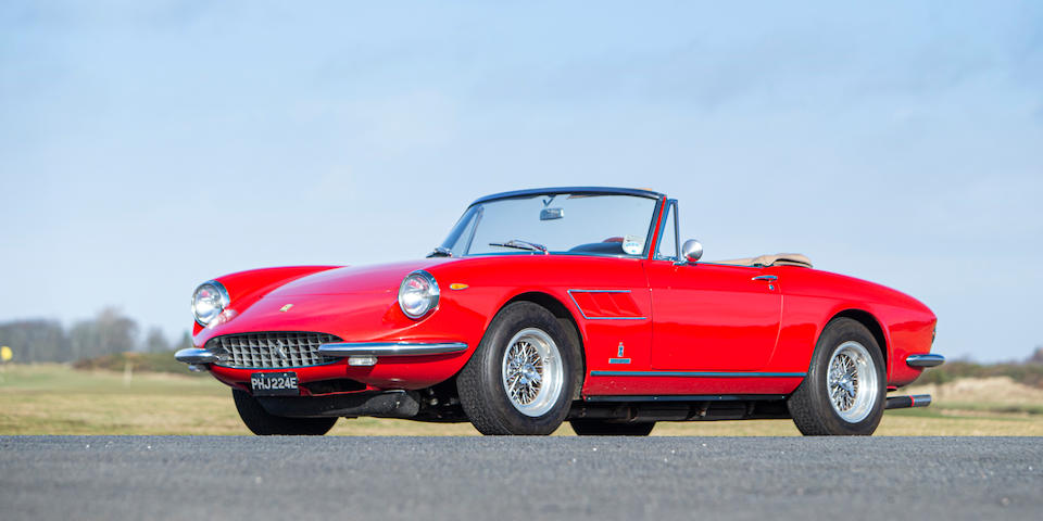 One of only 100 examples built and in current ownership since 2004,1967 Ferrari  330 GTS  Chassis no. 10113