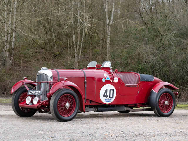 1937 Lagonda LG45 4½-Litre Fox & Nicholl 1936 Le Mans Team Car Replica  Chassis no. 12210