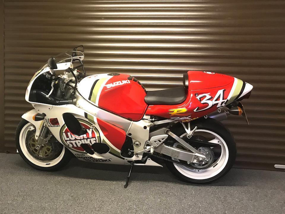 1997 Suzuki GSX-R750V Frame no. JS1GR7DA00504703 Engine no. R726-110965