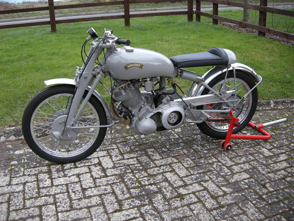 Vincent 499cc Grey Flash Replica Frame no. not stated Engine no. F10AB/2920/28