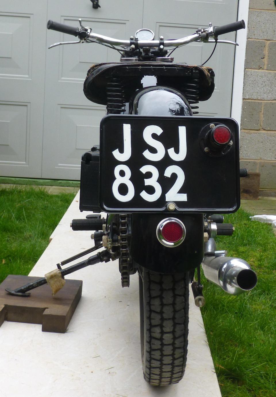 1937 Scott 596cc Flying Squirrel  Frame no. 4421M Engine no. DPY4387