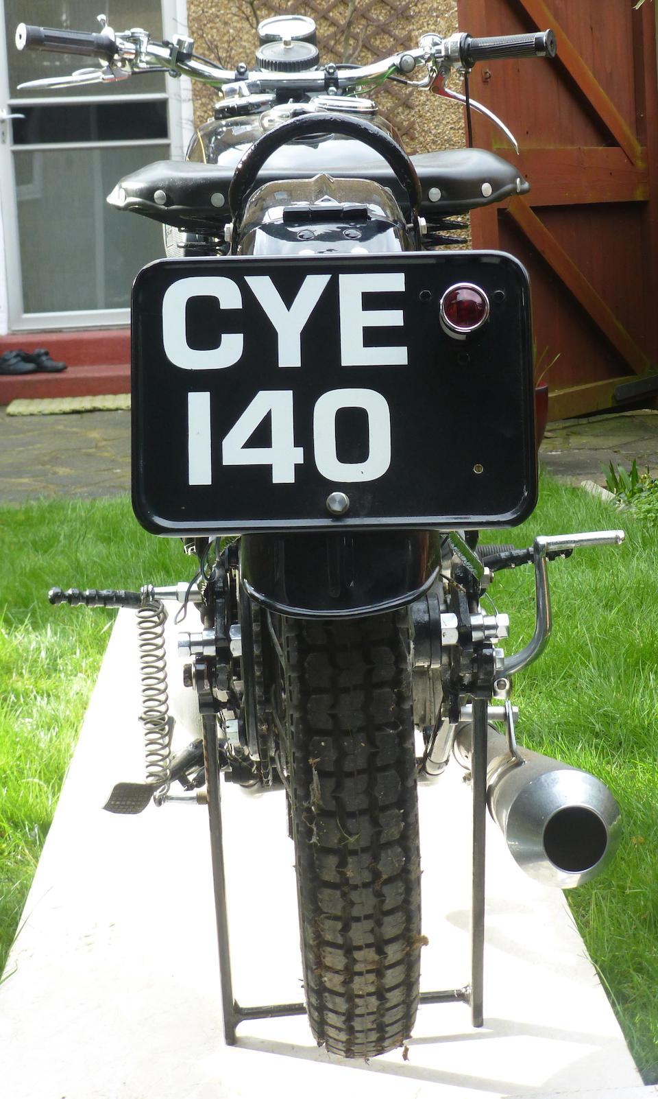 1935 Excelsior 350cc Manxman  Frame no. MC219 Engine no. CX159