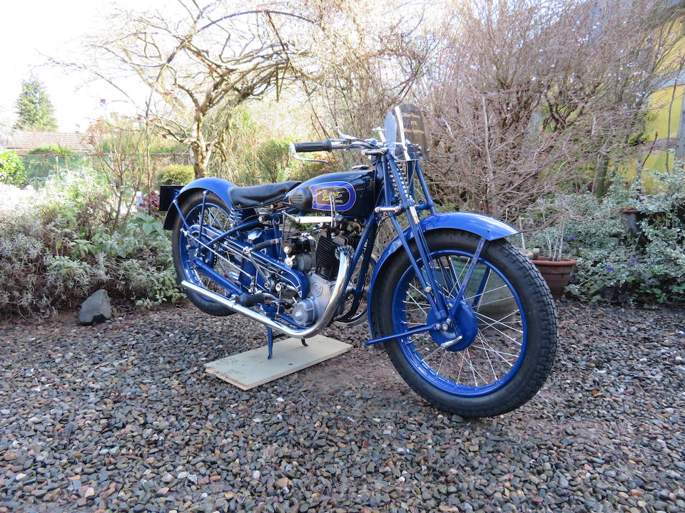 1931 Gillet-Herstal 350cc Supersport Frame no. 71307 Engine no. 71307