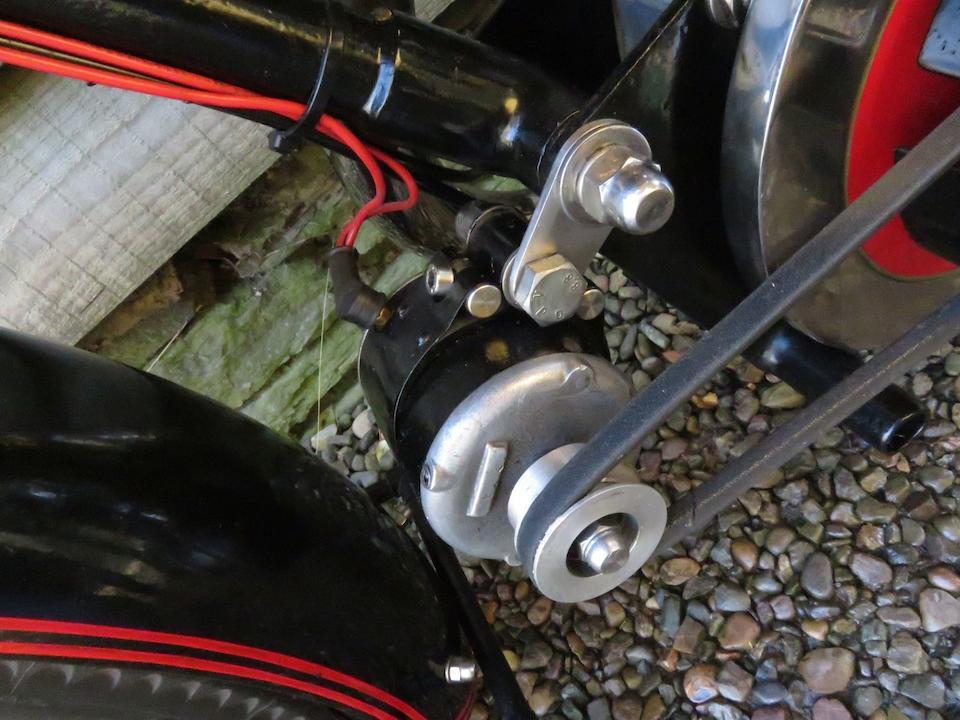 1929 Automoto 350cc AL9 Grand Tourist Luxe Frame no. 20246 (see text) Engine no. 20246