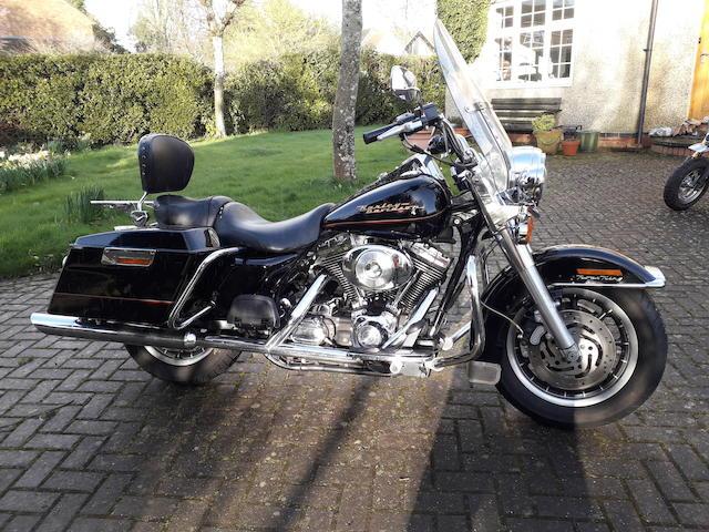 2001 Harley-Davidson 1,340cc FLHR Road King Frame no. 1HD1FDV16YY631763 Engine no. FDVY631763