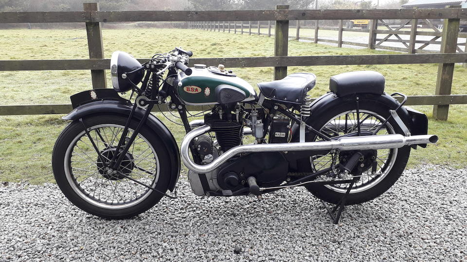 1934 BSA 499cc W34-8 Frame no. B4 2822 Engine no. B8 752