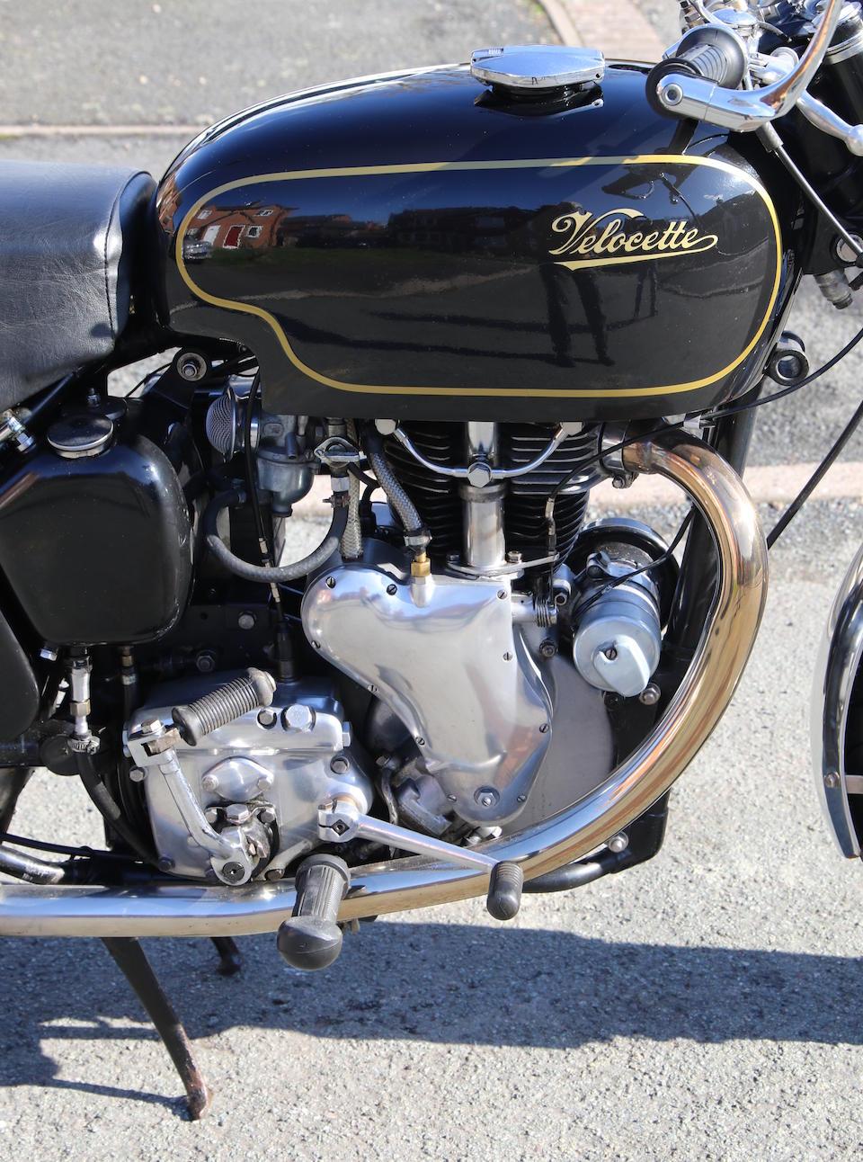 1961 Velocette 500cc Venom Frame no. RS-15911 Engine no. VM-4860