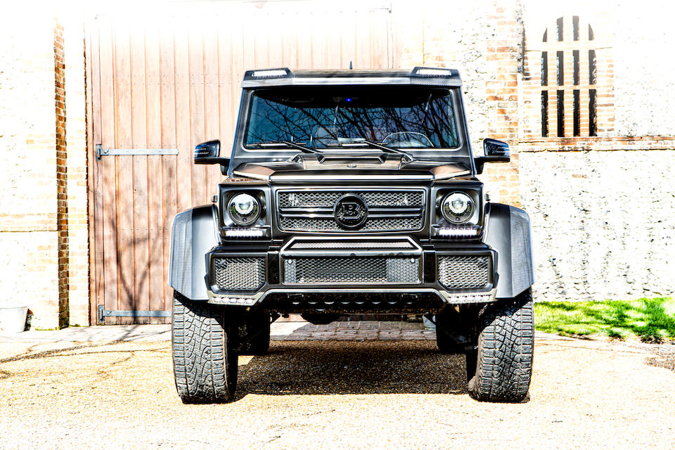 2018 Mercedes-Benz G 500 4x42 to Brabus Specification  Chassis no. WDB4632341X286964