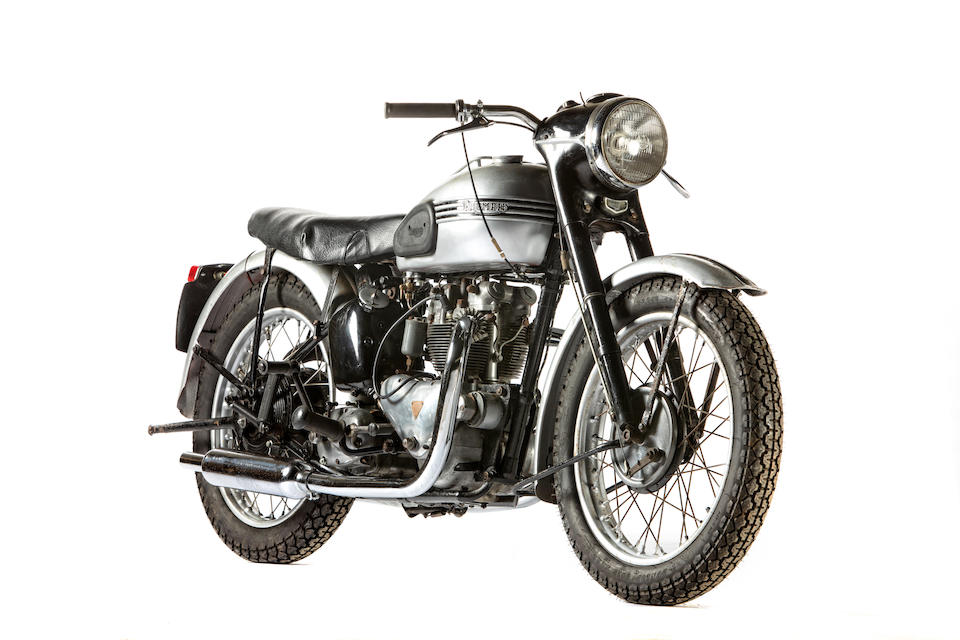 Rare, one-year-only model supplied with factory Racing Kit, 1953 Triumph 498cc T100C Project Frame no. 41912 Engine no. T100.C.41912