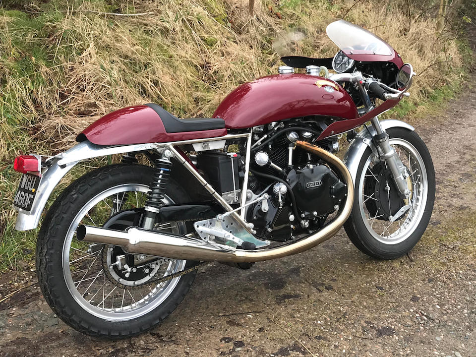 One owner from new, 2016 Egli-Vincent 1,330cc by Godet Frame no. EV485 Engine no. F13AB/5C/EV16072
