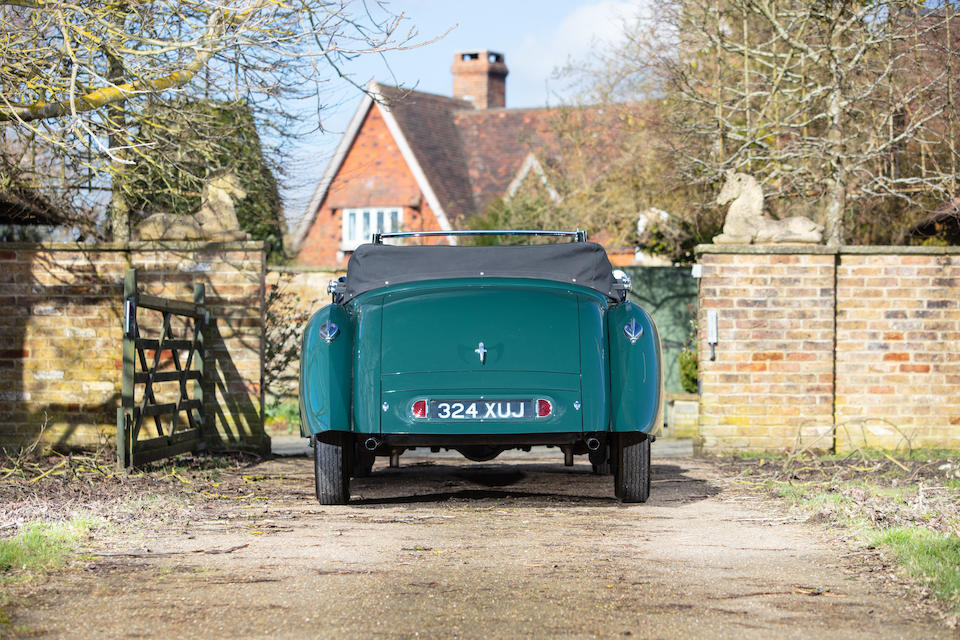 Offered from the estate of the late Michael Patrick Aiken, MBE,1939 Lagonda V12 Drophead Coupé  Chassis no. 14069