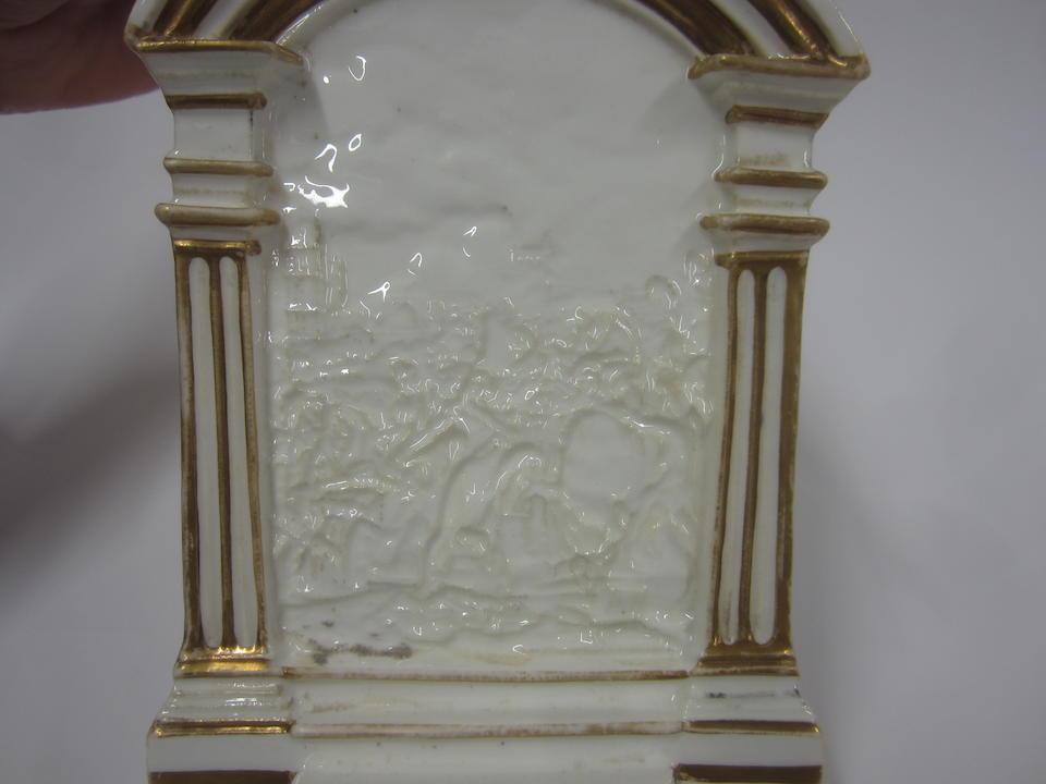 A rare Grainger, Lee and Co nightlight holder Circa 1830-35