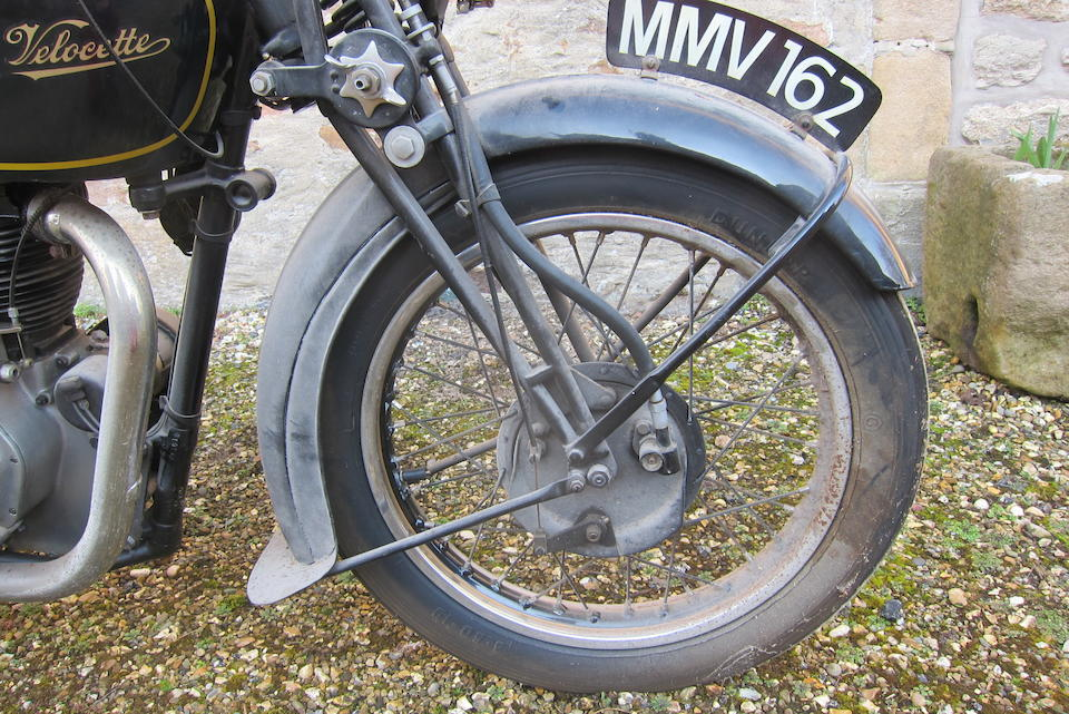 1937 Velocette 499cc MSS Frame no. C MS3616 Engine no. MSS1157