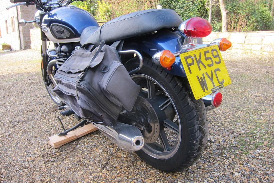 2009 Triumph 865cc Bonneville SE Frame no. *SNT900K13AT410628* Engine no. 408783