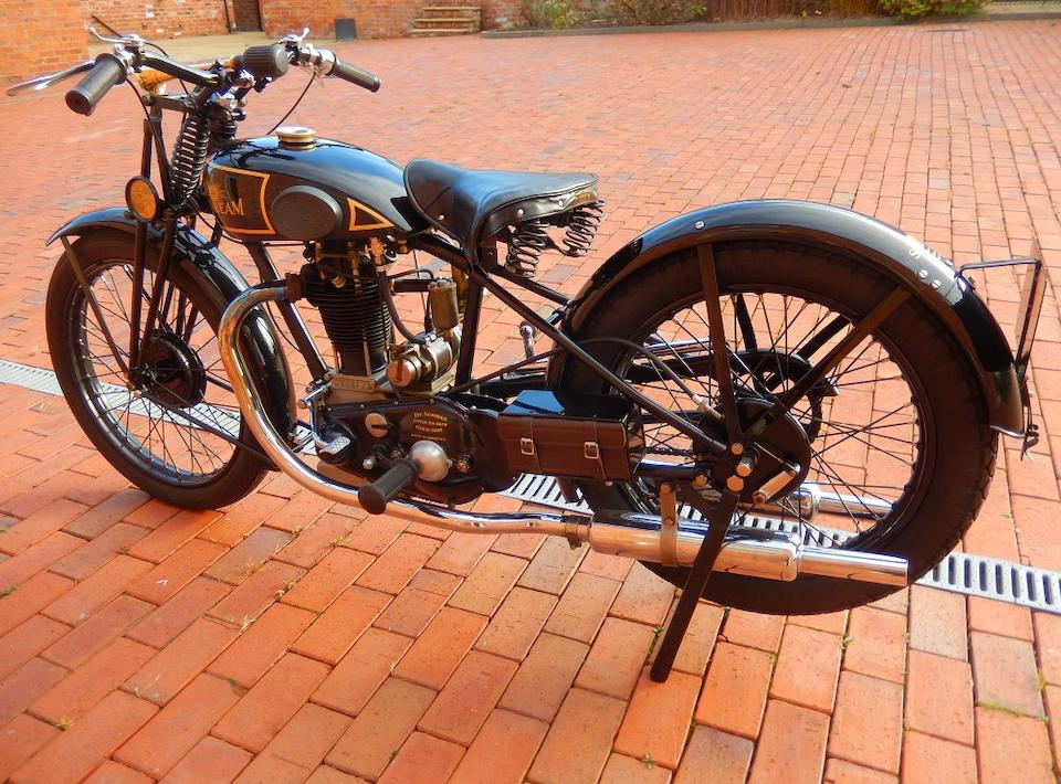 1931 Sunbeam 344cc Model 10 Frame no. R1155 Engine no. SS1133