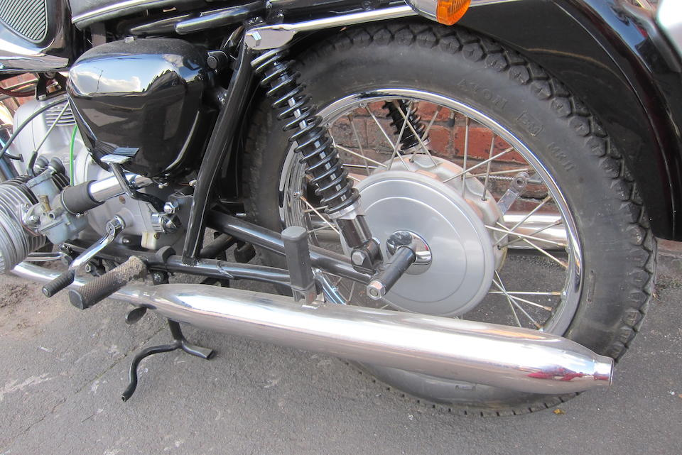 Property of a deceased's estate, c.1967 Marusho Lilac 500cc Magnum Electra Frame no. F9-1108 Engine no. R2-1108