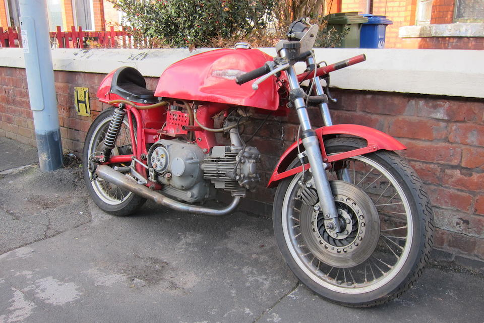 Property of a deceased's estate, c.1972 Aermacchi Racing Motorcycle Frame no. AERDAV350N*252925 Engine no. none