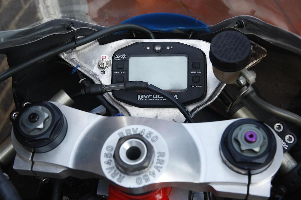 2013 Aprilia RRV450 Racing Motorcycle Frame no. none Engine no. 45SX 02110