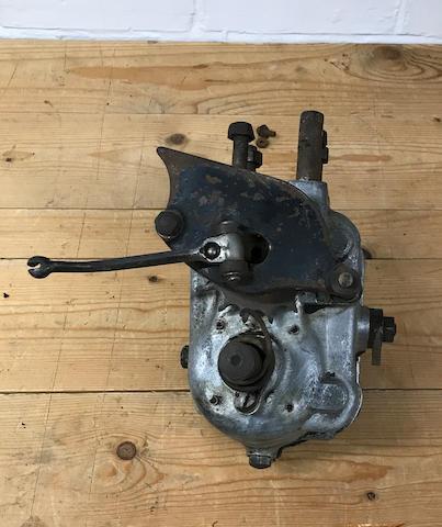 A Triumph 4 stud gearbox