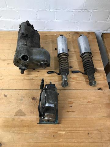 A 1950 lightweight Burman gearbox  ((4))