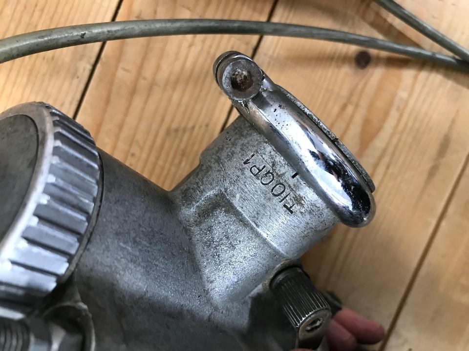 A pair of Amal GP1 carburettors  ((2))