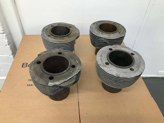 Four believed Vincent cylinder barrels  ((4))