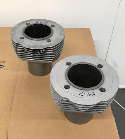 Two believed Vincent cylinder barrels  ((2))