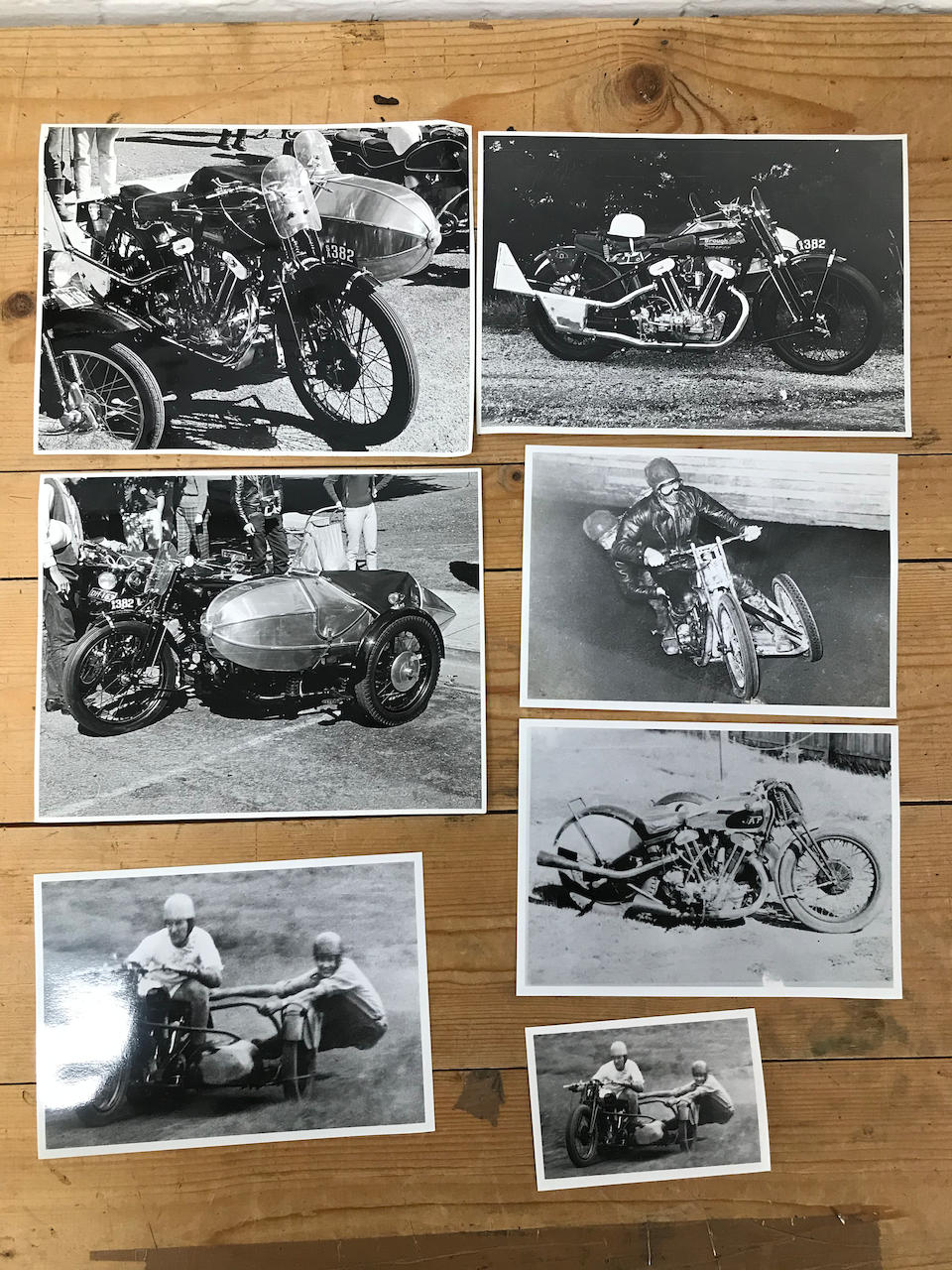 A selection of Brough Superior period photographs and correspondence,  ((Qty))