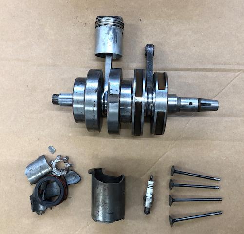 A Honda CR110 Crankshaft for display  ((Qty))