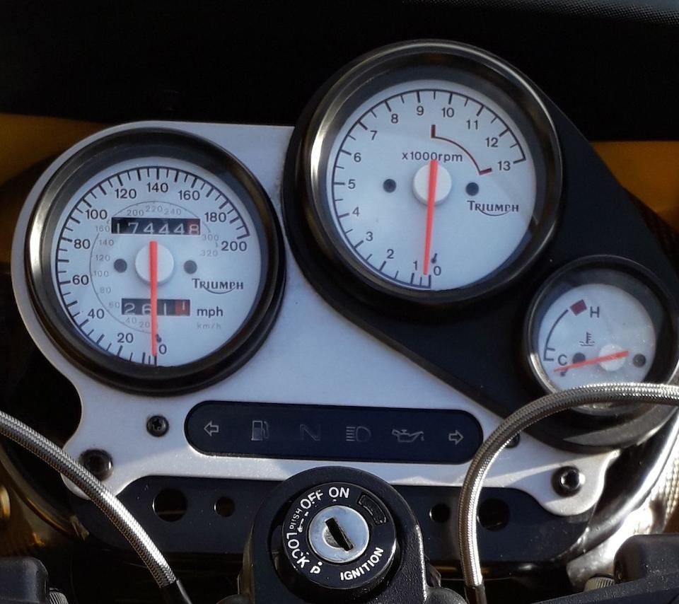 One owner from new, 1994 Triumph 885cc Daytona Super III Frame no. SMTTC310GMS017064 Engine no. G017255