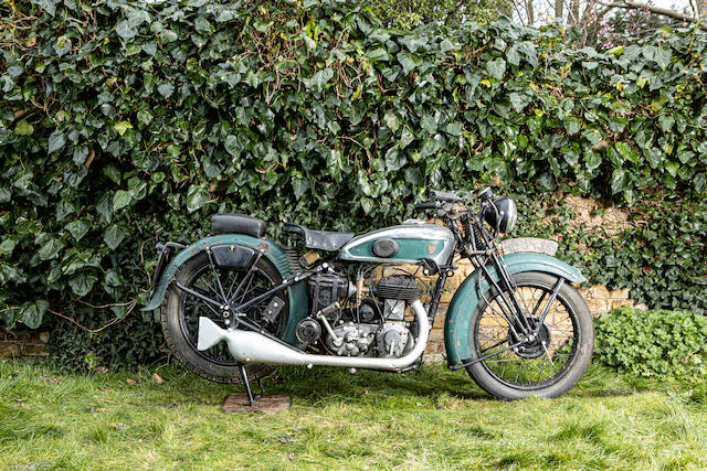 Property of a deceased's estate, c.1937 Terrot 499cc Type RD Frame no. 232120 Engine no. 141188
