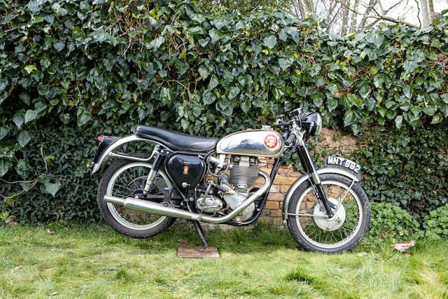 Property of a deceased's estate, c.1955 BSA 500cc Gold Star Frame no. CB32.290.9 Engine no. DB.34.GS.316