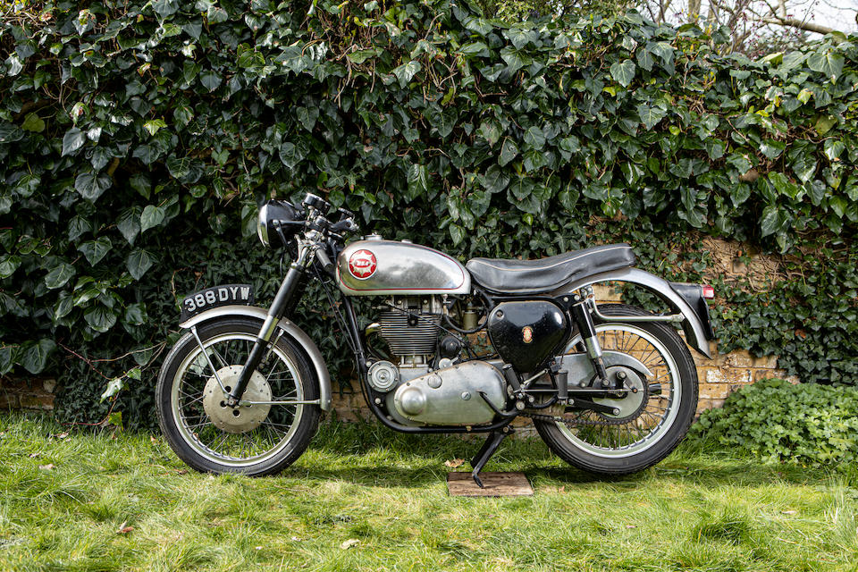 Property of a deceased's estate, c.1956 BSA 350cc Gold Star Frame no. CB32.6611 Engine no. DB.32.GS.1749 (see text)
