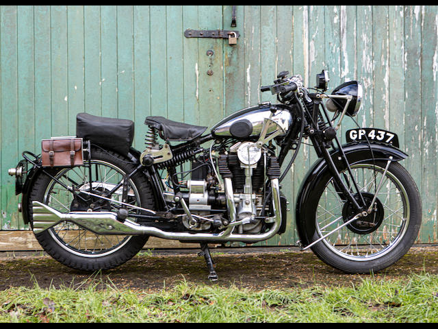 1931 Matchless 592cc Silver Hawk Frame no. B721 Engine no. B667