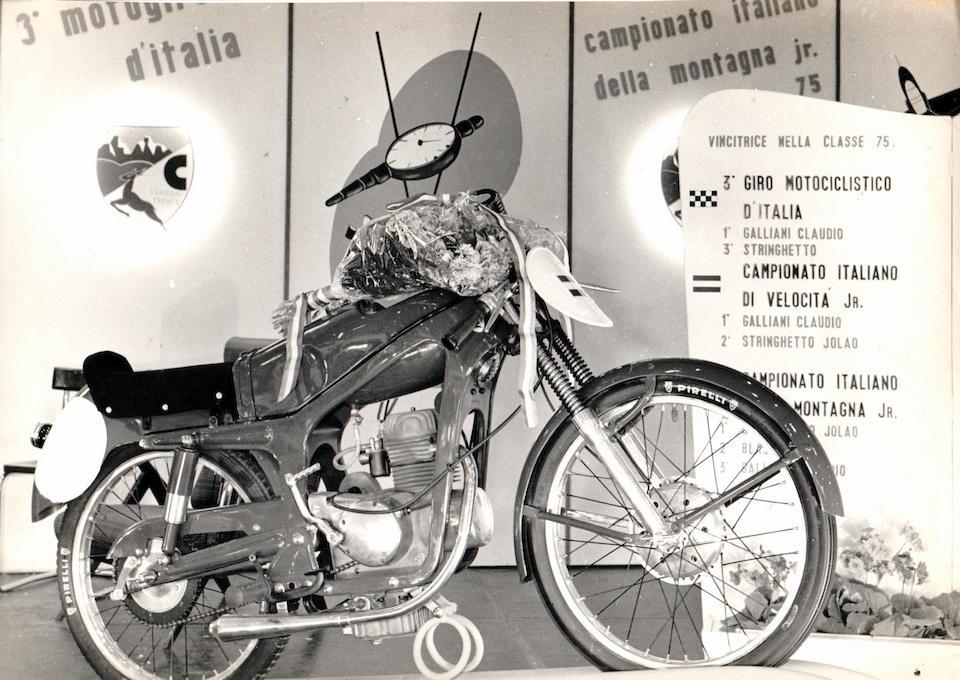 1956 Capriolo 75cc Sport Frame no. none visible Engine no. 24189