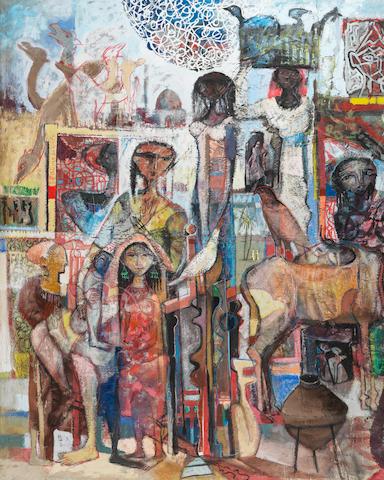 Omar El-Nagdi (Egypt, 1931-2019) Le Grand Marché