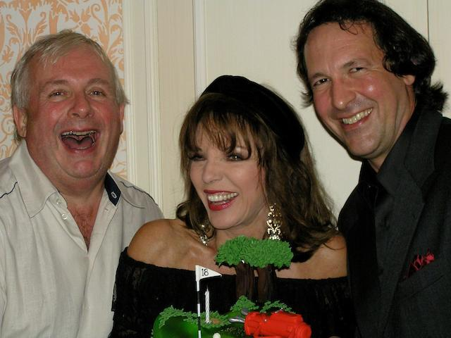 Lunch at Claridge's with Dame Joan Collins, Percy Gibson and Christopher Biggins together with an overnight stay for 2 people in a suite at Claridge's
