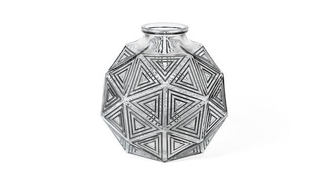 A 'Nanking' Vase by René Lalique  lightly engraved 'R.Lalique', moulded 'R.LALIQUE', designed 1925