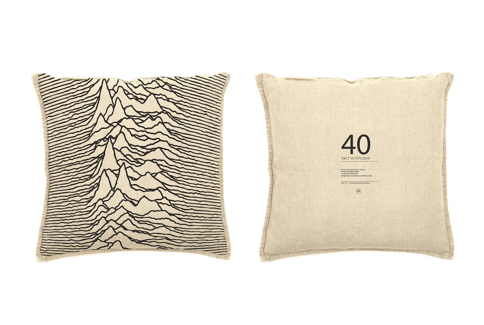 NEW ORDER 40th ANNIVERSARY 'UNKNOWN PLEASURES' STAGE AND SET FLAGS