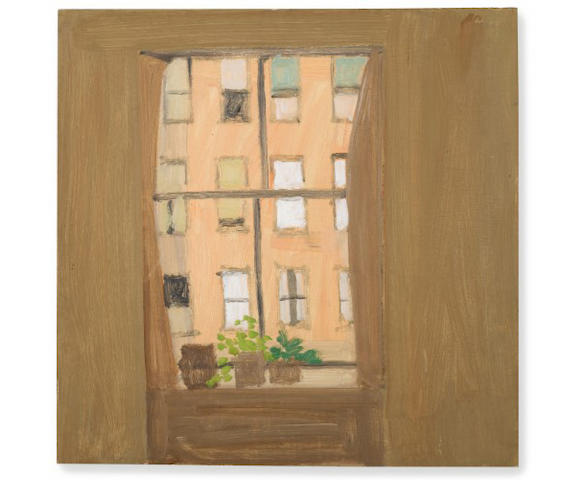 Alex Katz (American, born 1927) Window 5 1961-1962