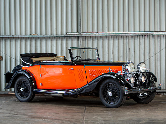 1934 Talbot AV105 Three Position Drophead Coupé  Chassis no. 35488
