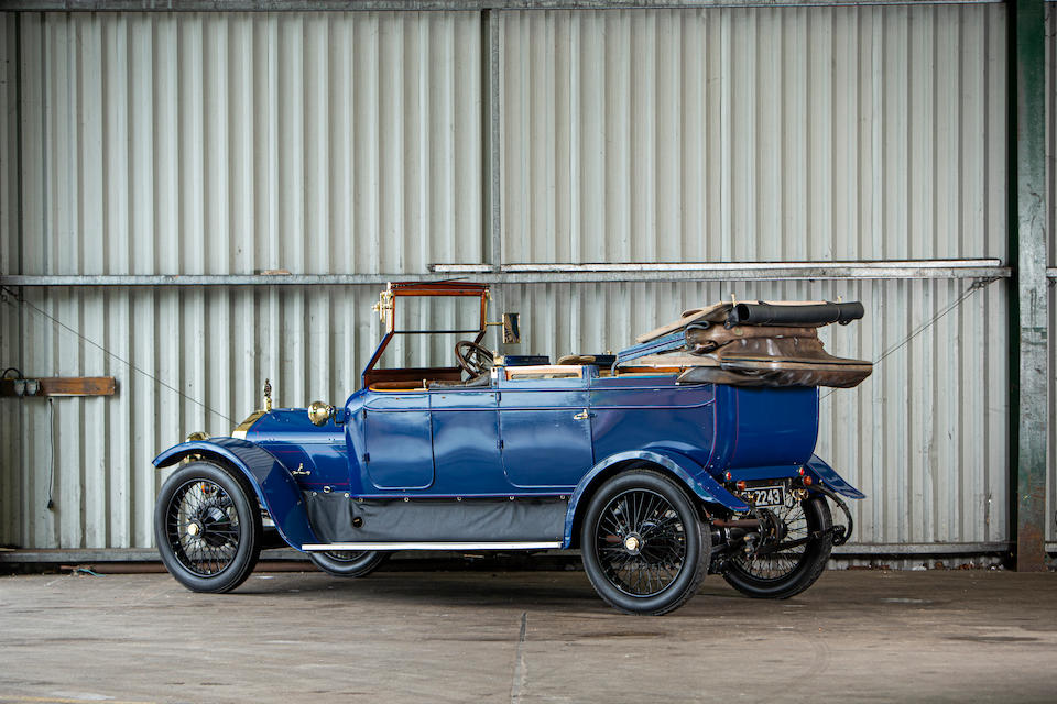 1912 Wolseley 16/20 Booth Brothers open-drive all-weather cabriolet  Chassis no. 16482