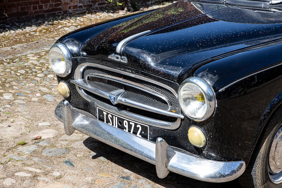 1958 Peugeot 403 Saloon  Chassis no. 2208263