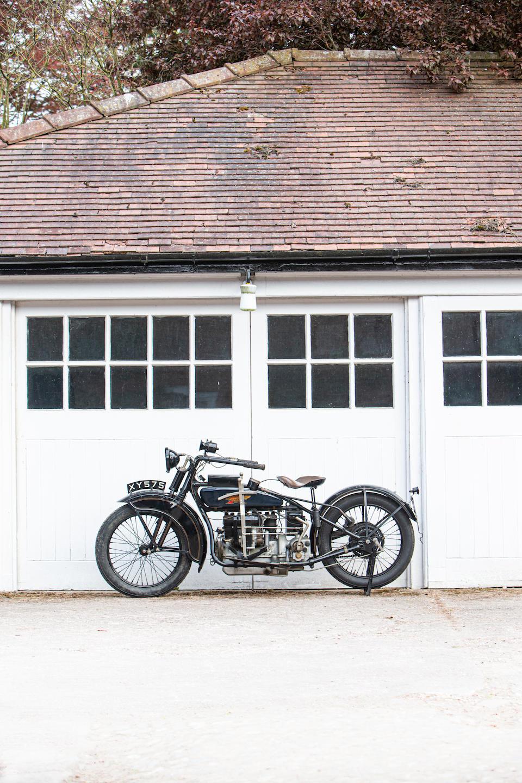 Property of a deceased's estate, 1924 Henderson De Luxe Four  Frame no. 1094 Engine no. D12309A