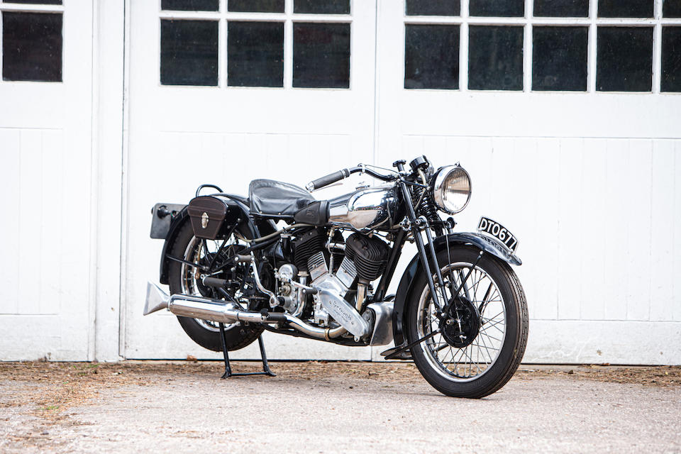 Property of a deceased's estate, 1937 Brough Superior 1,096cc 11-50hp Frame no. M8/1823 Engine no. LTZ/F 56205/SN