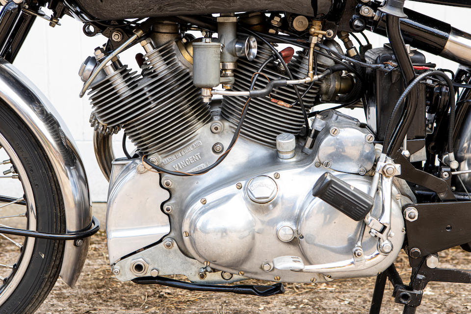 Property of a deceased's estate, 1951 Vincent 998cc Series-C Rapide  Frame no. RC10090 Rear Frame no. RC10090 Engine no. F10AB/1/8190 Crankcase mating no's. XX80 / XX80